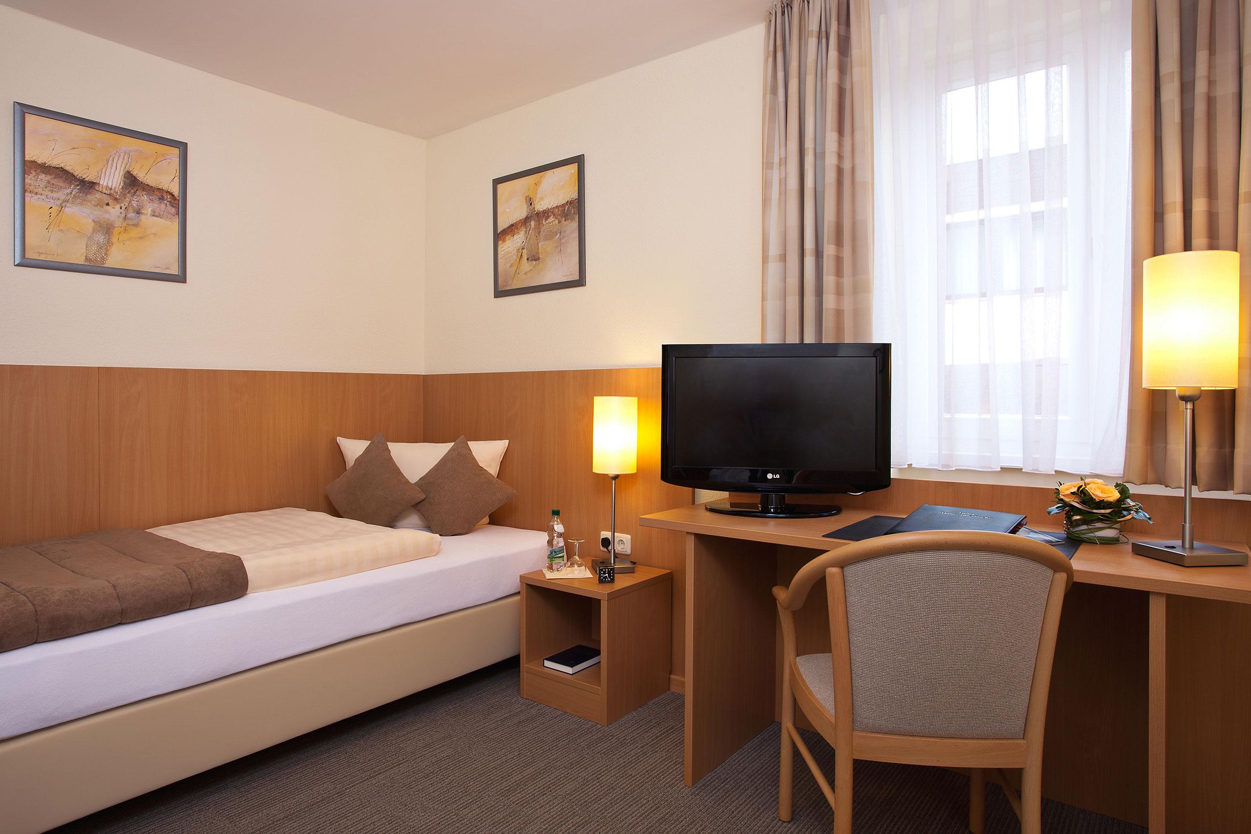 Einzelzimmer Hotel Haus Silberbach