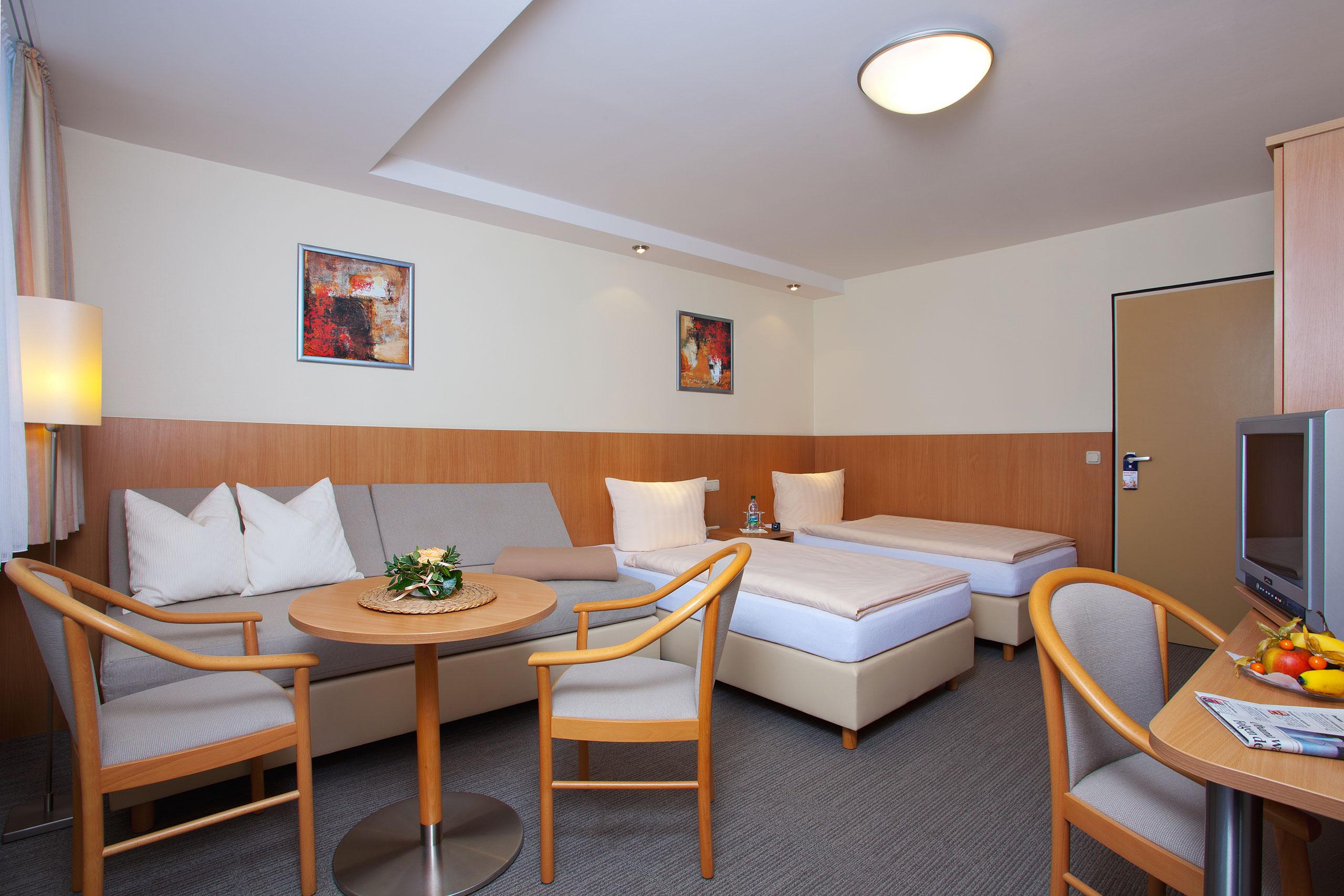 Doppelzimmer Hotel Haus Silberbach Selb Oberpfalz